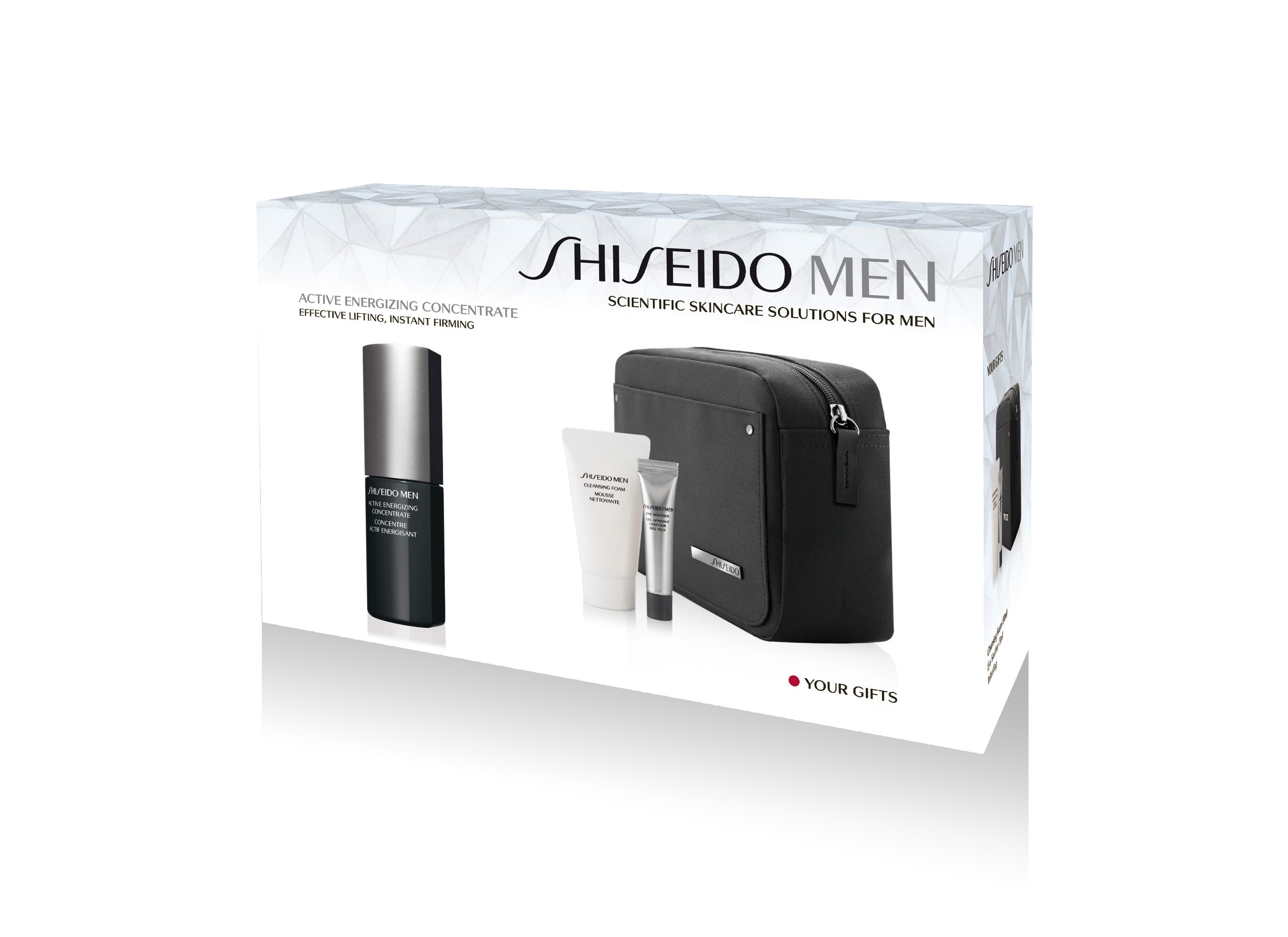 Men`s Active Energizing Concentrate Set