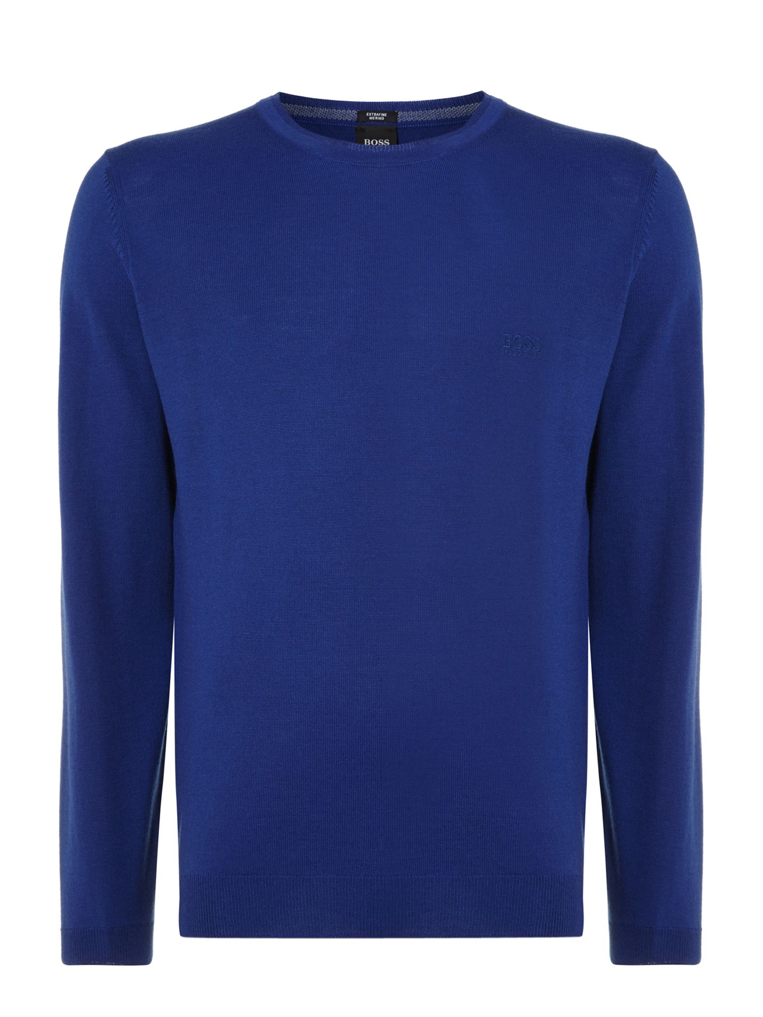 Merino crew knitted jumper