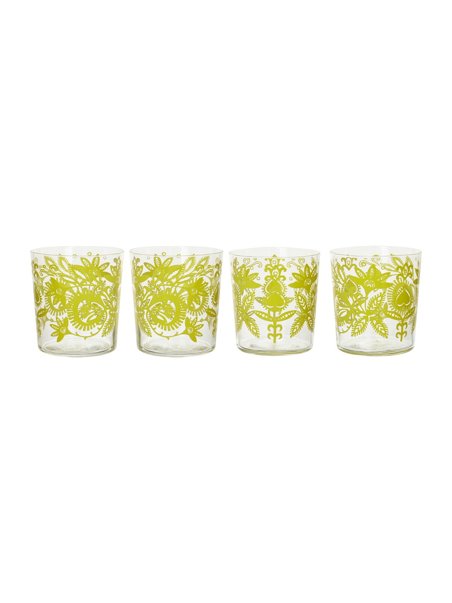 Ania tumbler glasses box of 4