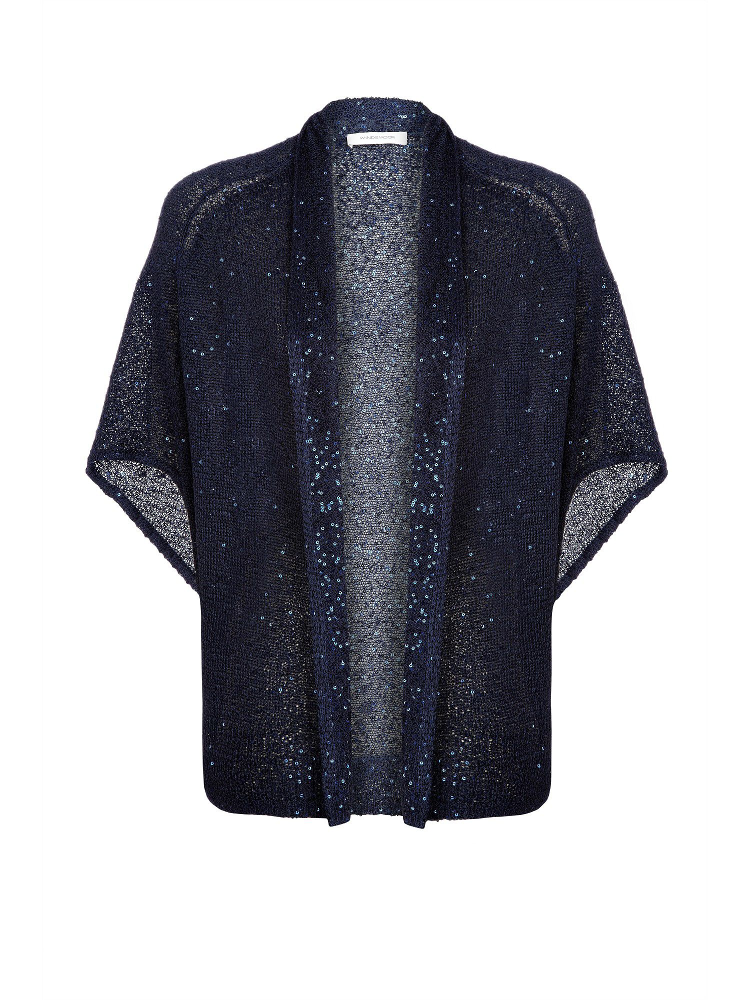 Navy sparkle cardigan
