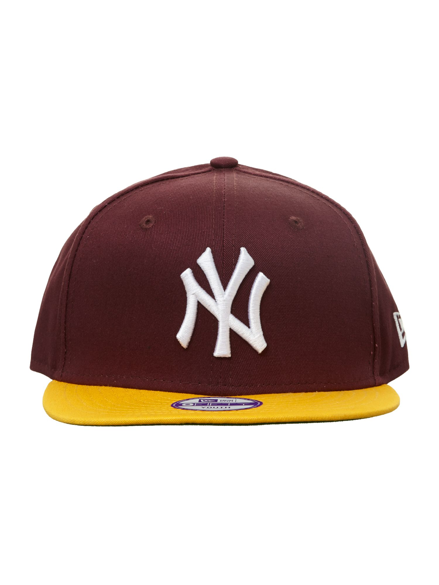 Kid`s 9Fifty block NY hat