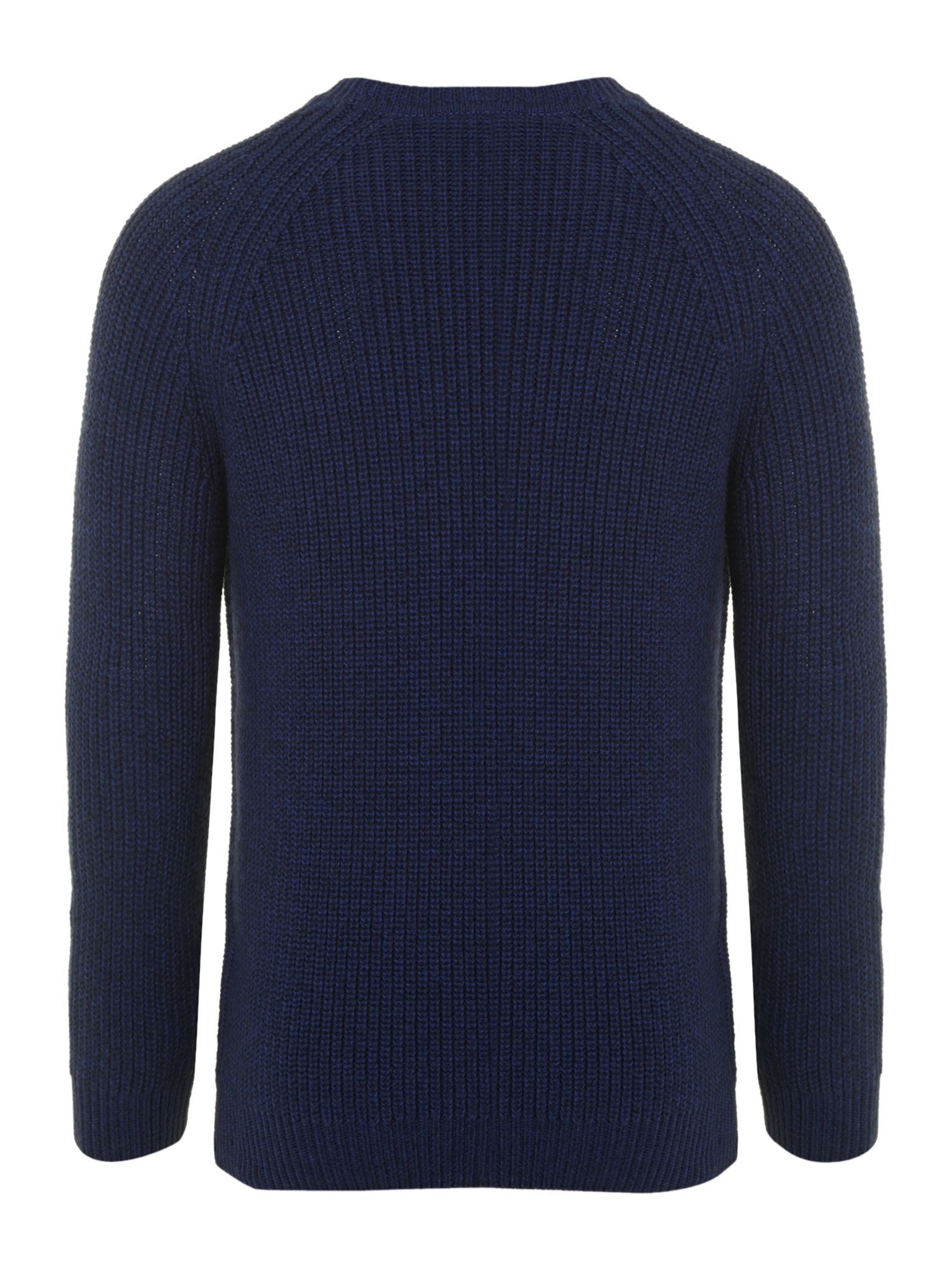 Boy`s long-sleeved crew neck jumper