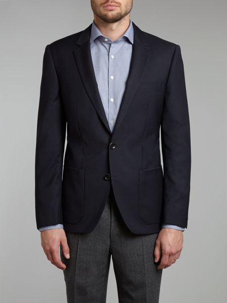 Simon Carter Hospack patch pockets blazer