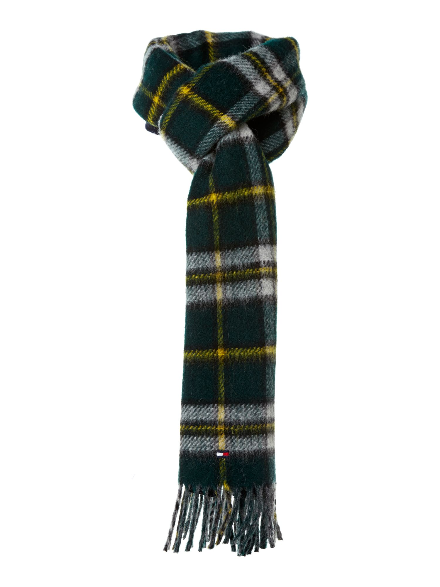 Cape check scarf