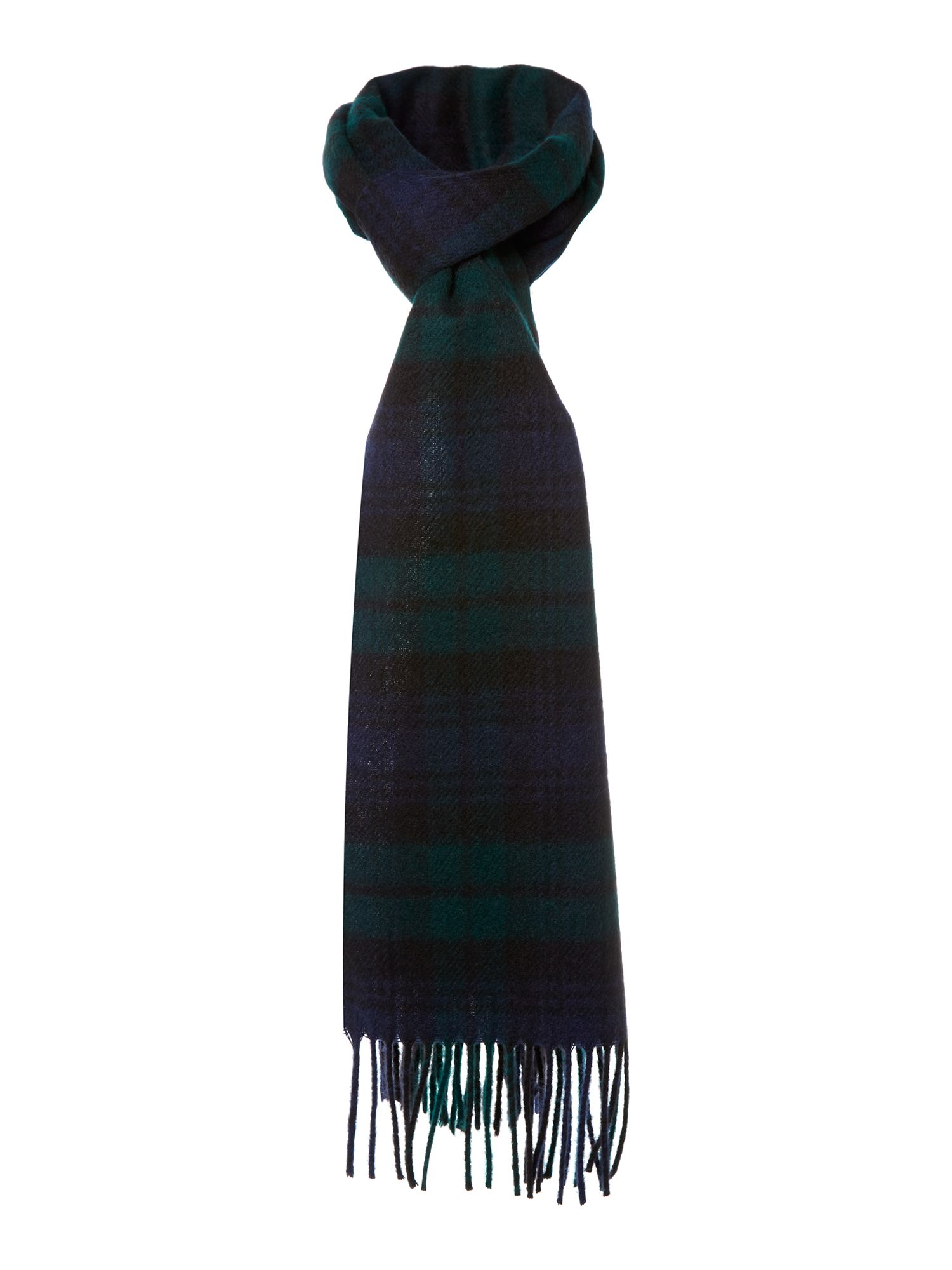 Blackwatch check scarf
