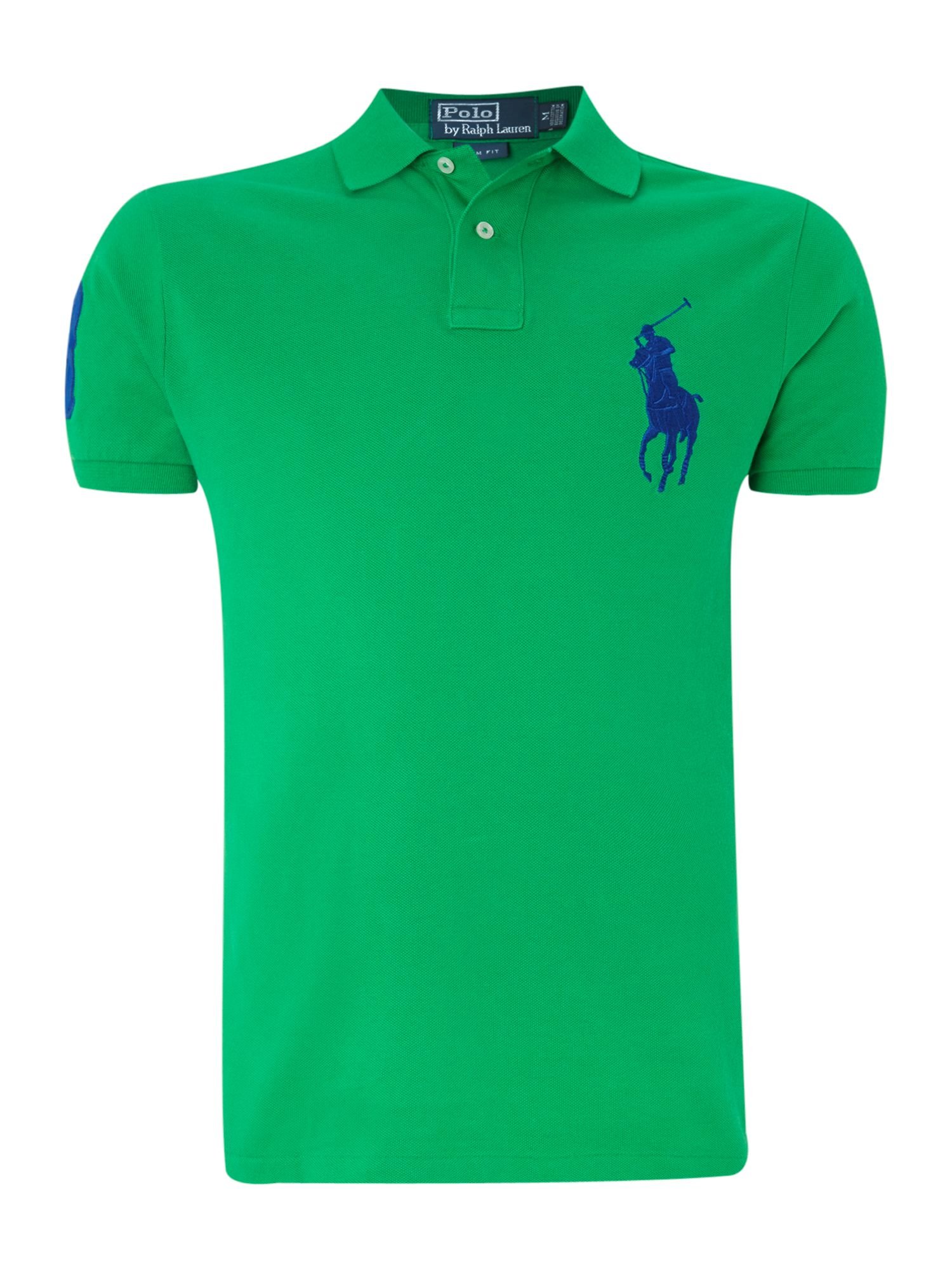 Classic big pony slim fit polo