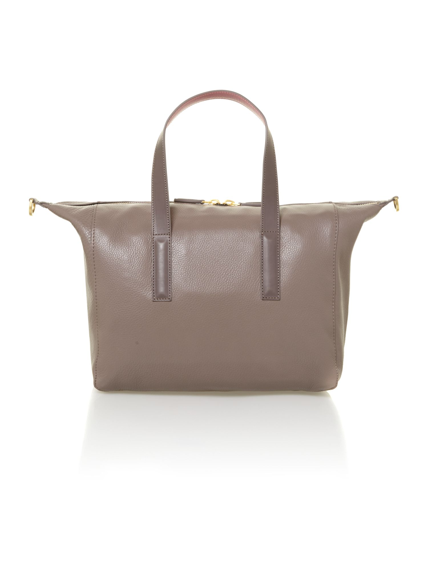 Brown large bowling bag