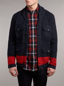 Thicket shawl collar cardigan