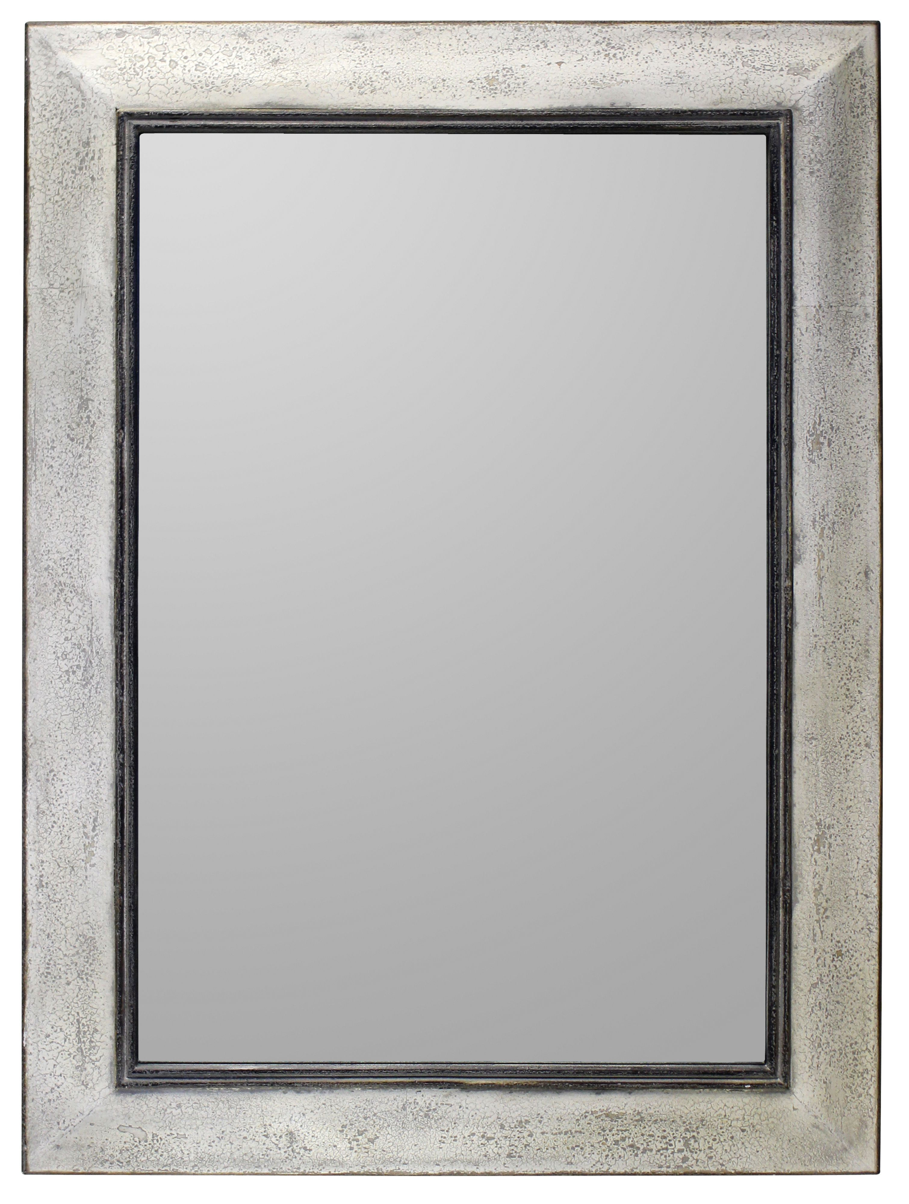 Ealham rustic wood mirror 41x31