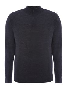 Merino funnel neck jumper
