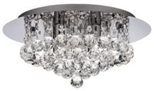 Linea Christabel 4 light flush ceiling