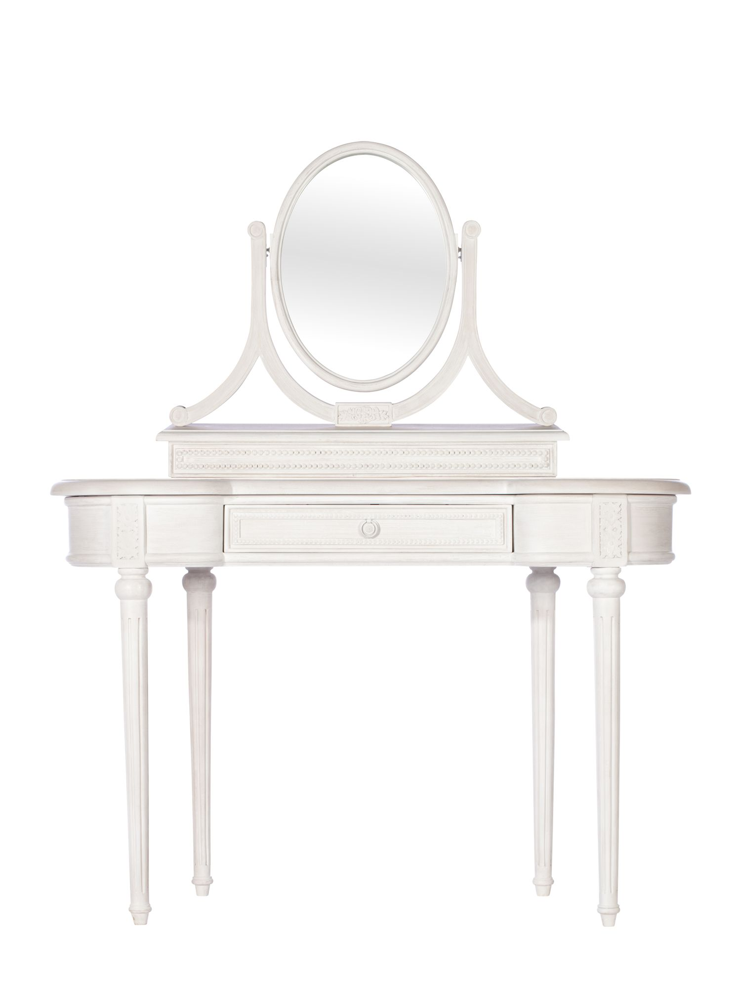 Heather dressing table and mirror