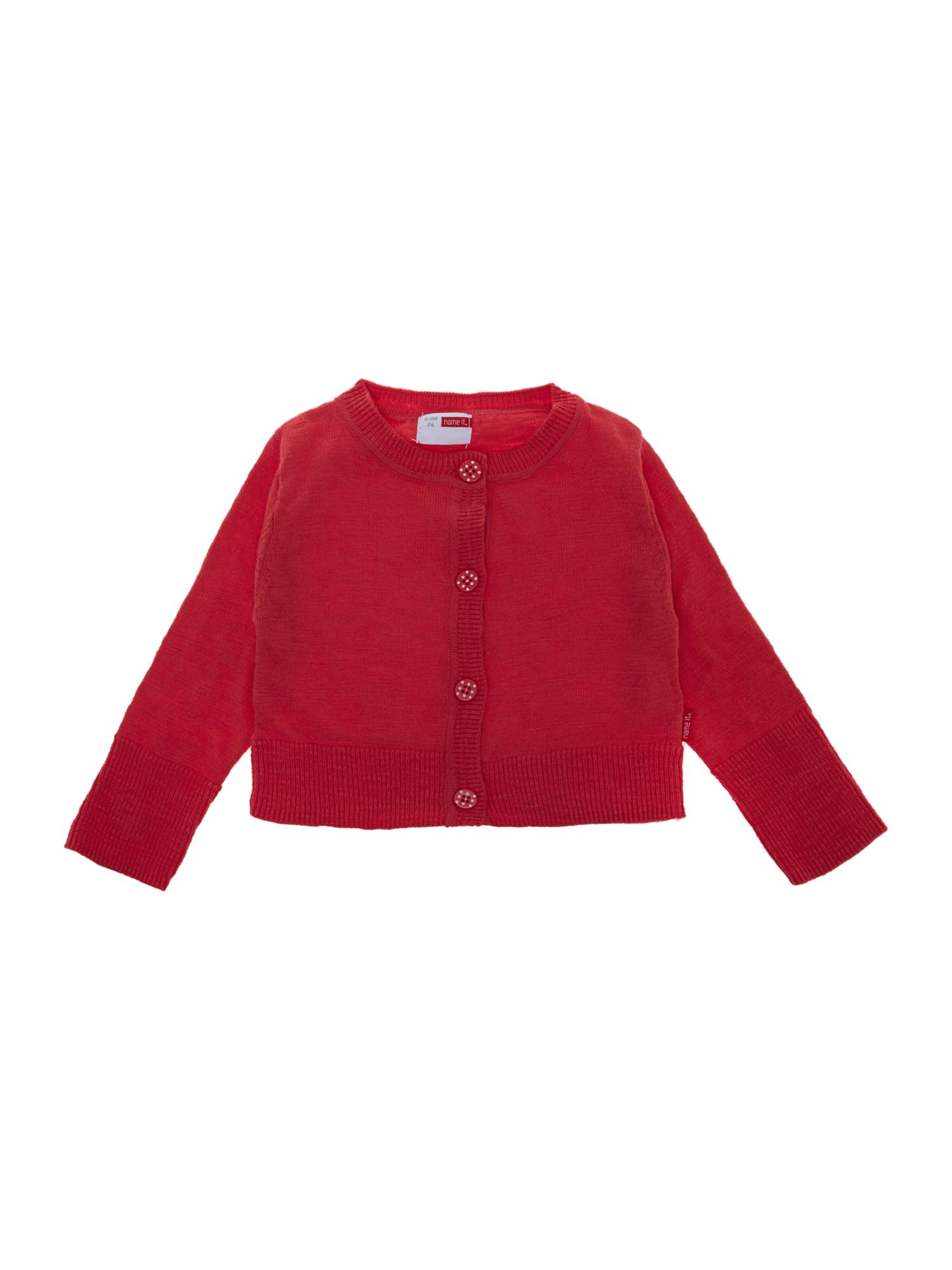 Girl`s short cardigan