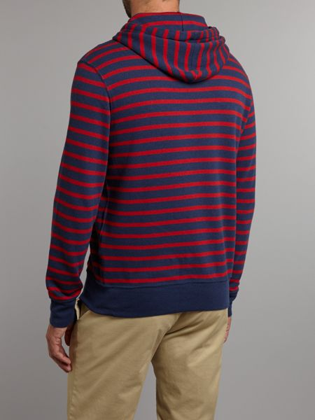 Polo Ralph Lauren Classic striped hooded sweater