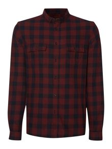 Kobe flannel check shirt