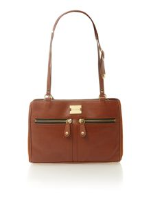 Pippa tan shoulder bag
