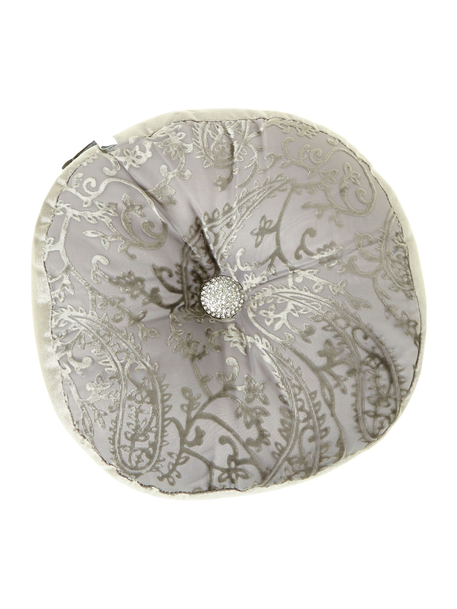 Stella truffle runner round cushion