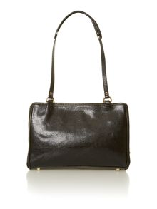 Pippa black shoulder bag
