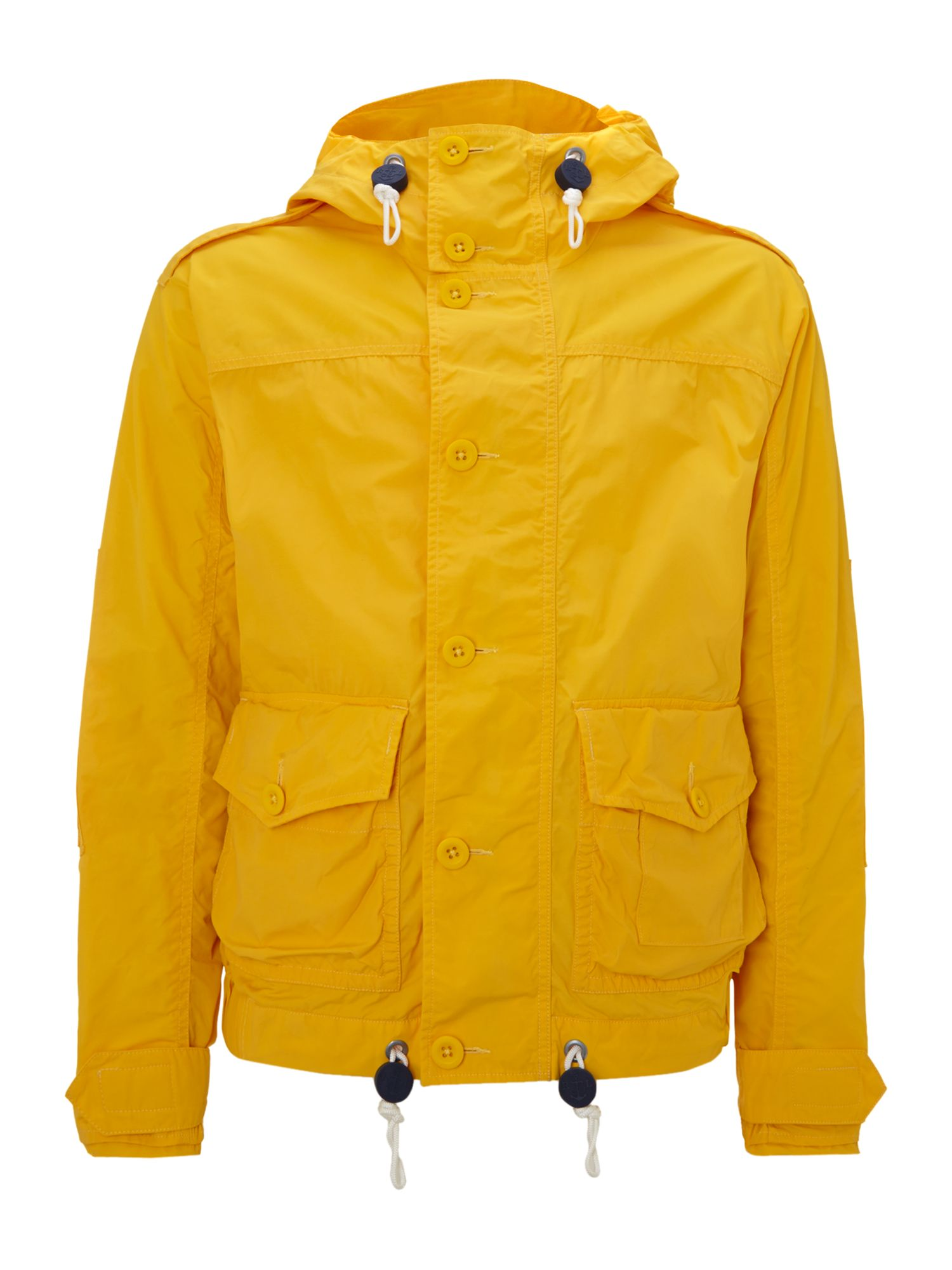 Dockside hooded windbreaker jacket