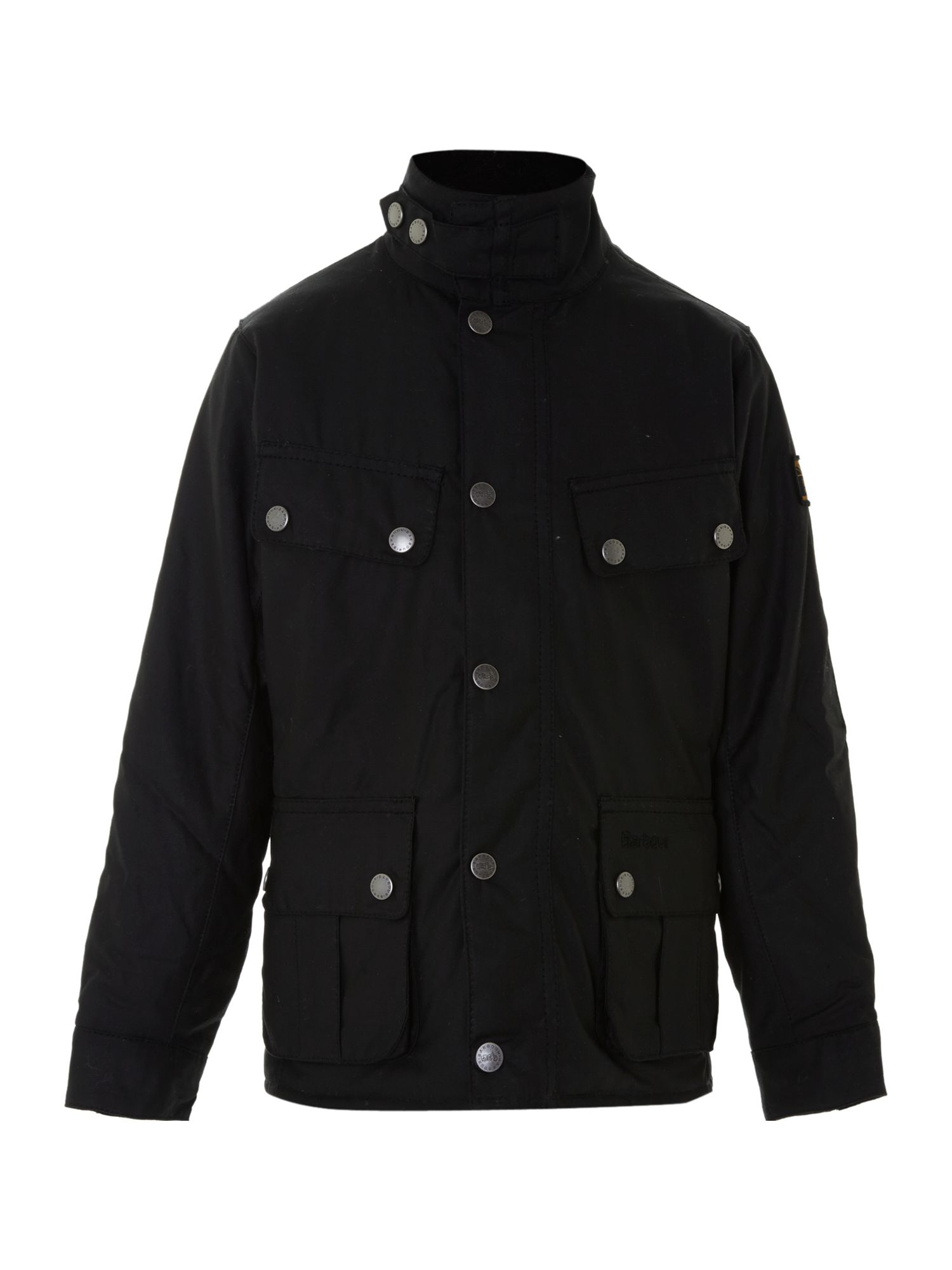 Boy`s tourer duke waxed jacket