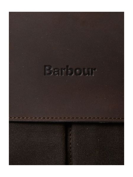 Barbour Barbour Wax Leather Briefcase