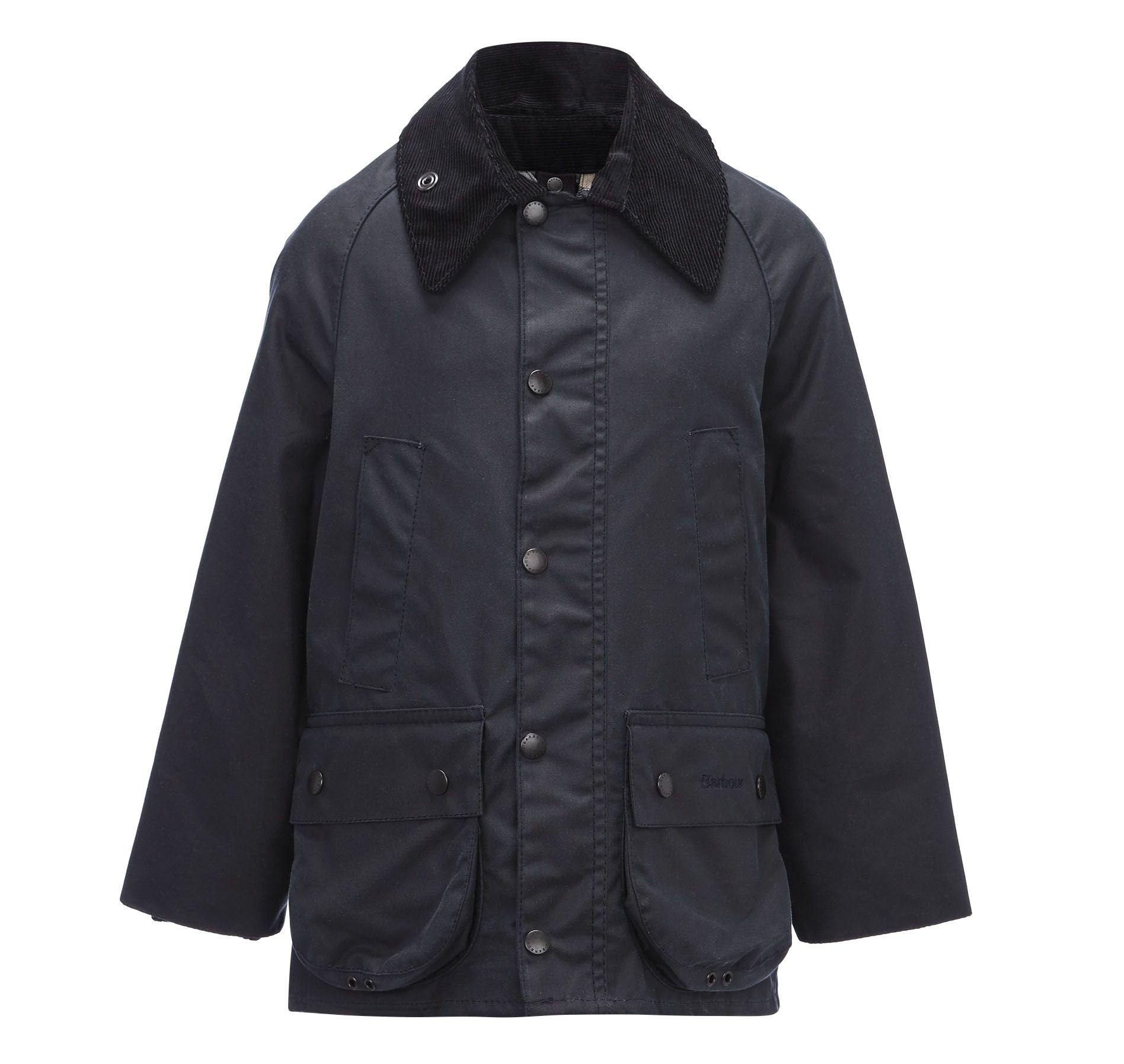 Boy`s classic Bedale waxed jacket