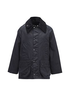 Boys classic Bedale waxed jacket