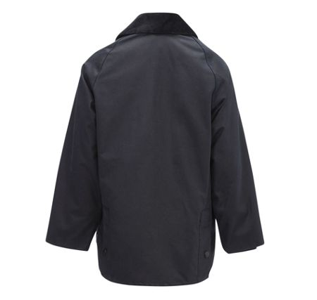 Barbour Boys classic Bedale waxed jacket