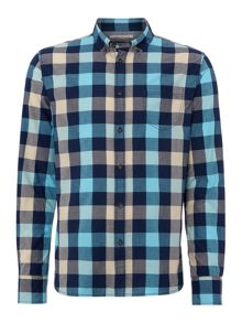 Jefferson Large Gingham Long Sleeve Shirt