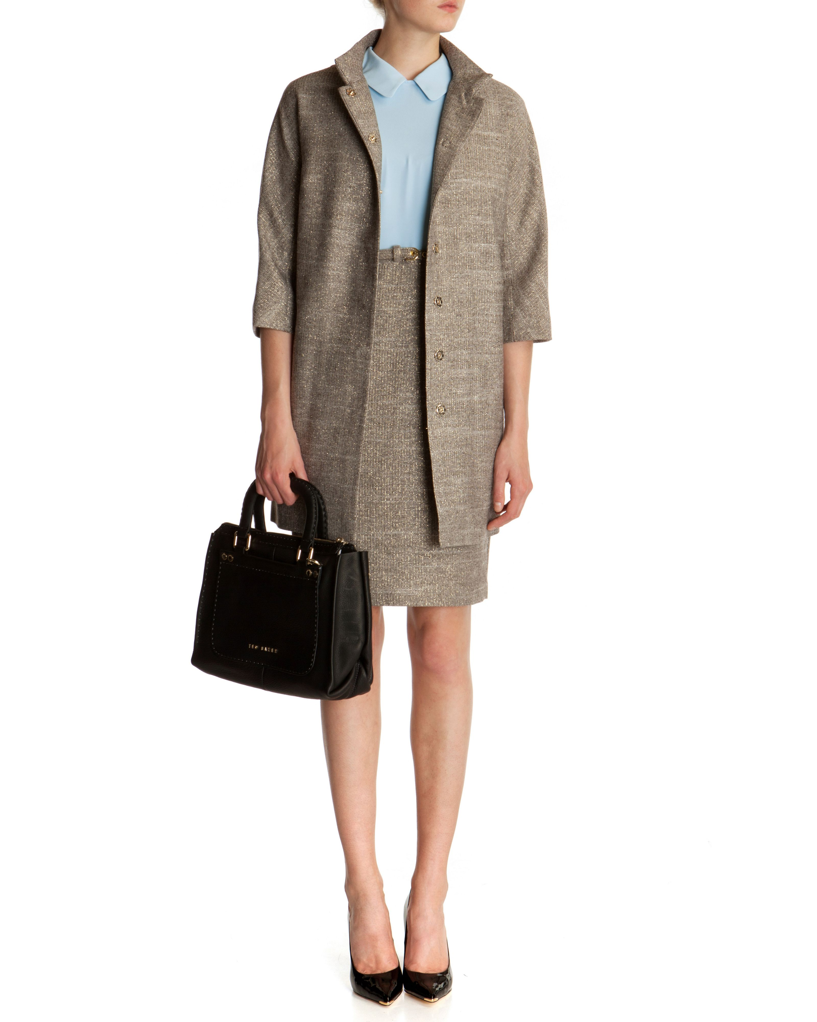 Osalin jacquard coat