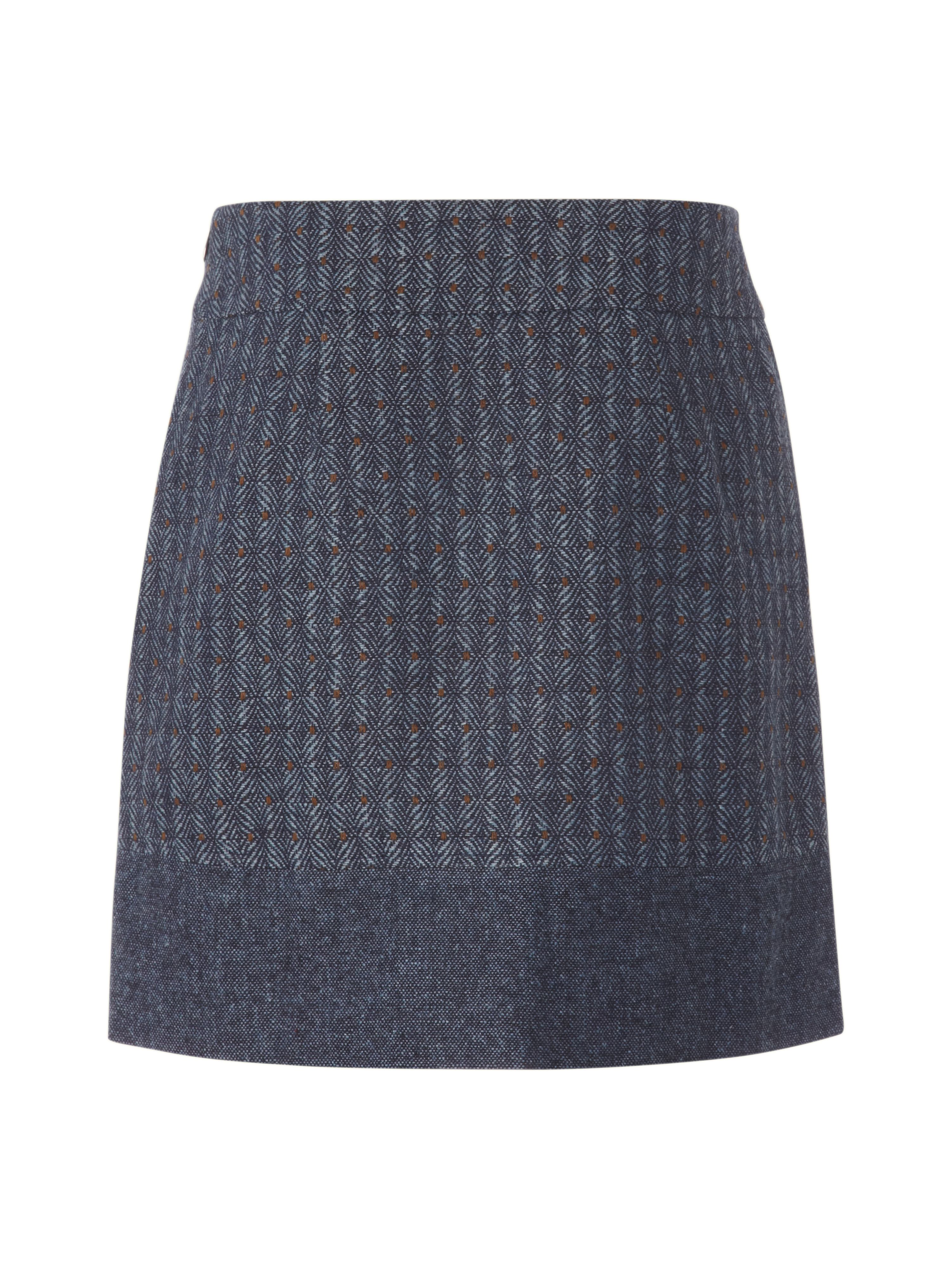 Tweed ascot skirt