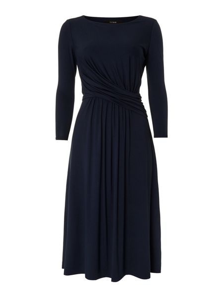 Linea Jakki drape dress
