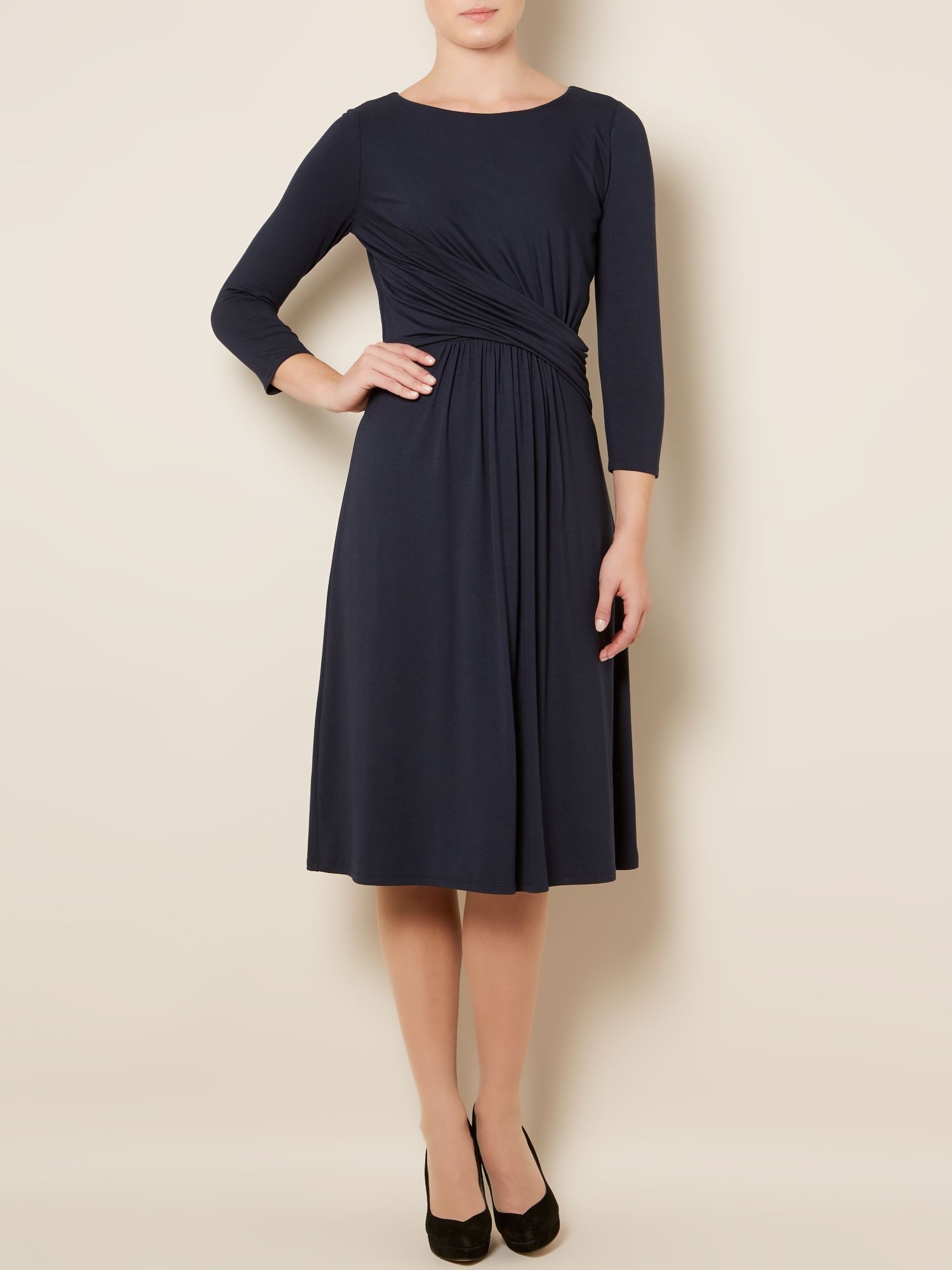 Jakki drape dress