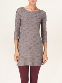 Textured bubble tunic