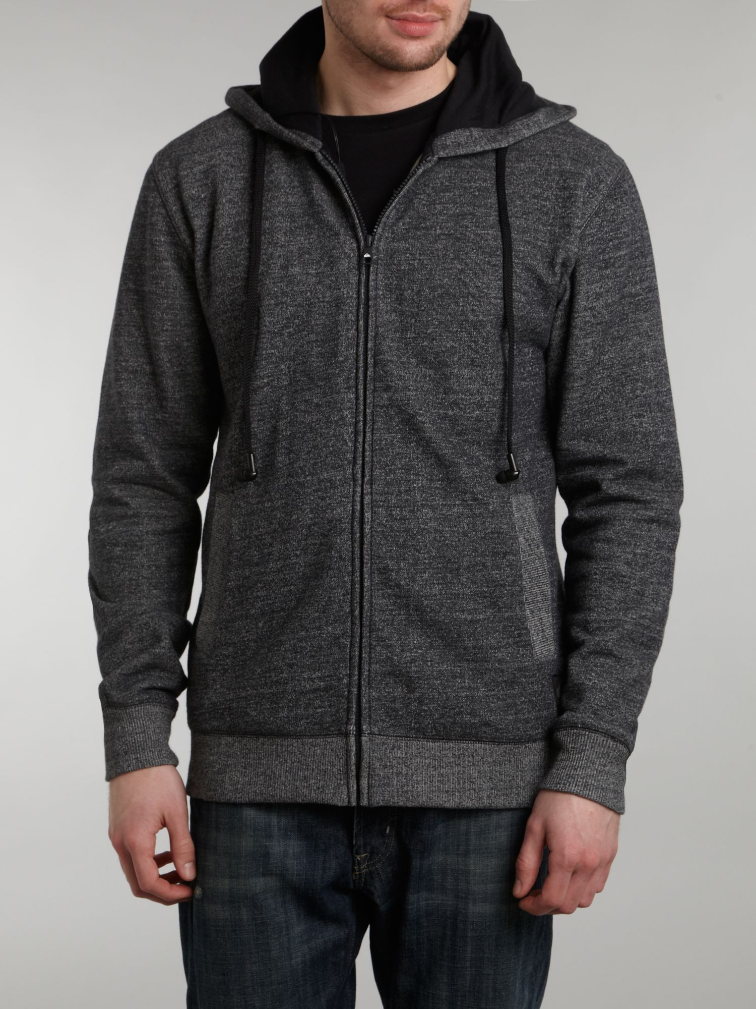 Full zipped hoody with headphones
