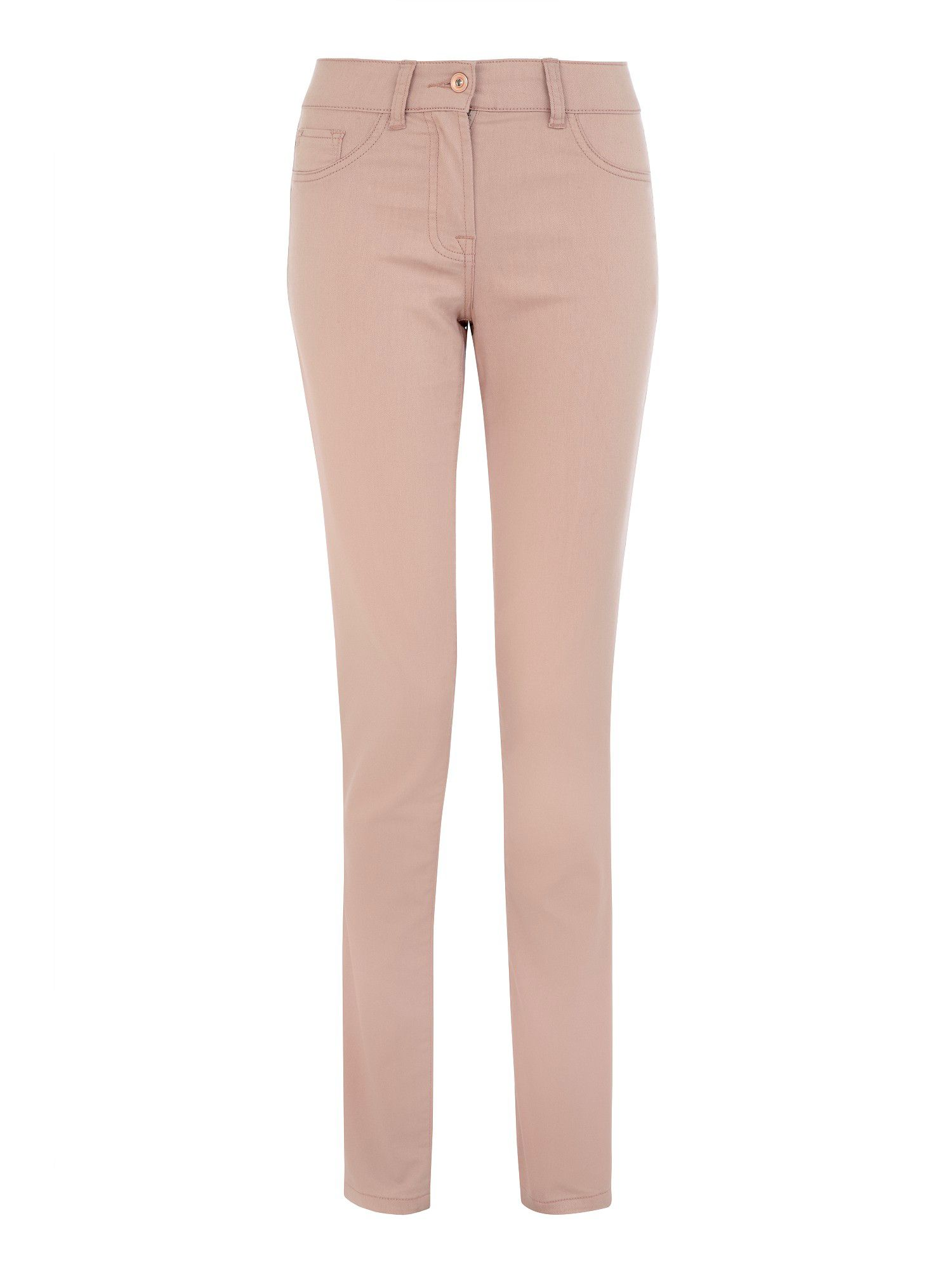 Peach jeggings