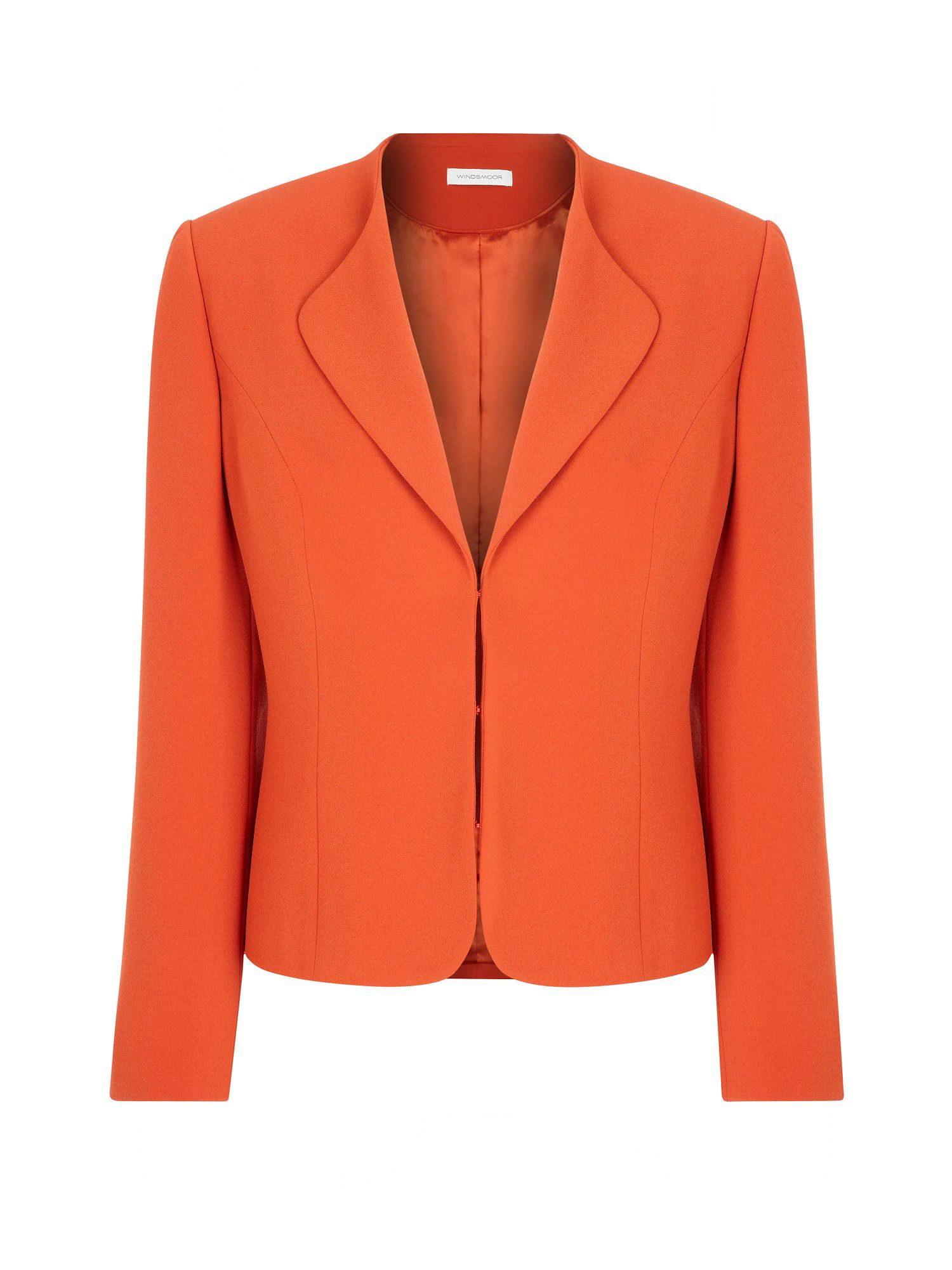 Orange tailored jacket