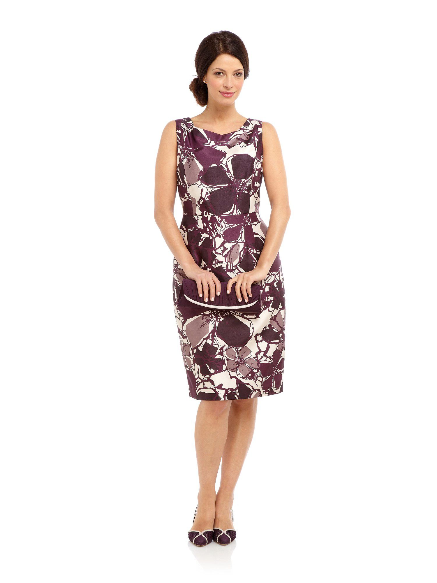 Contemporary floral dress