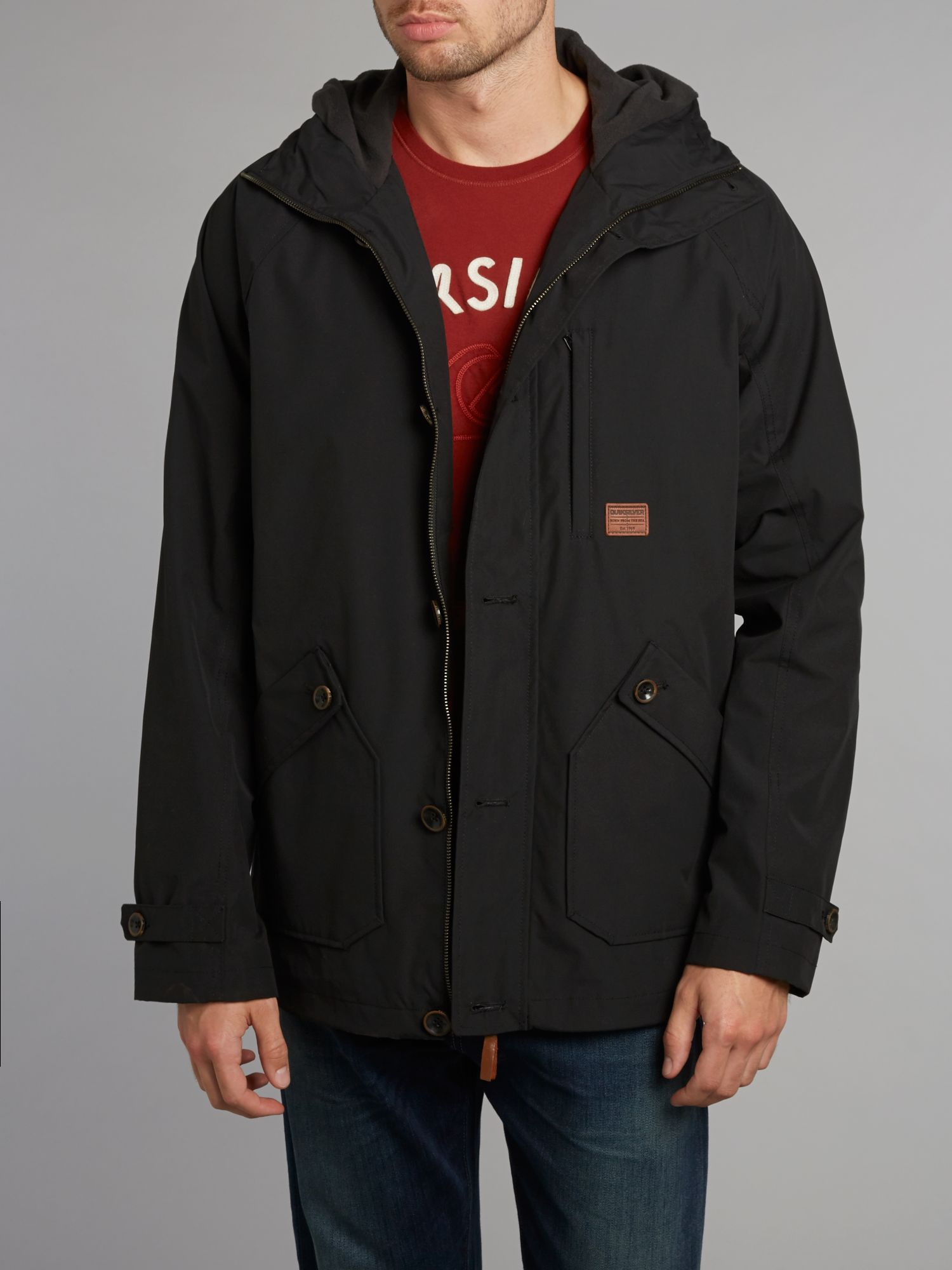 Edgewood hooded jacket
