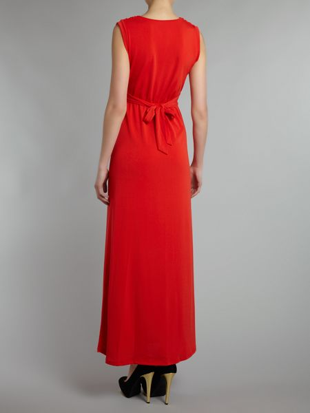 Wal-G Cowl neck maxi dress
