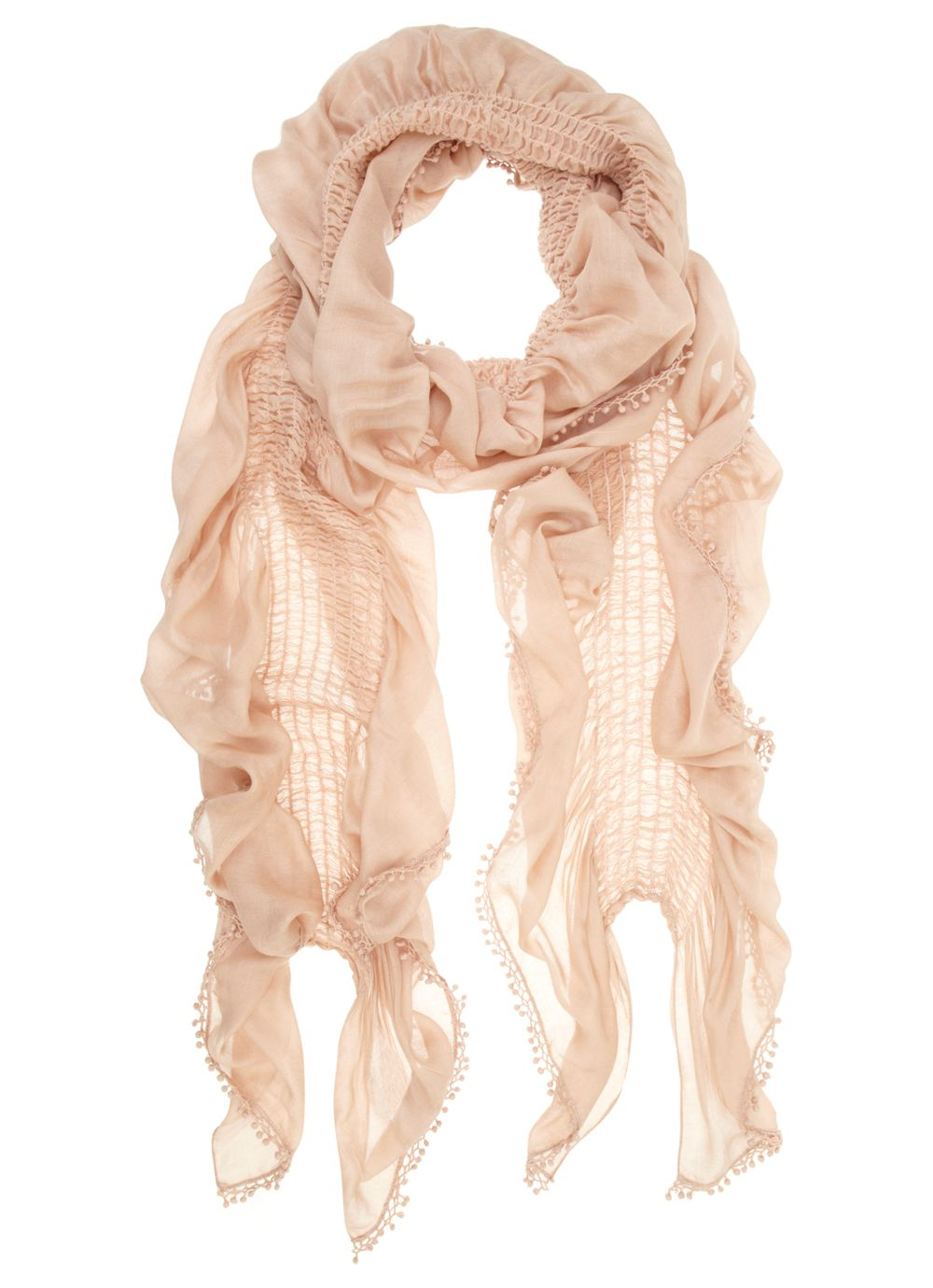 Foundation bobble scarf