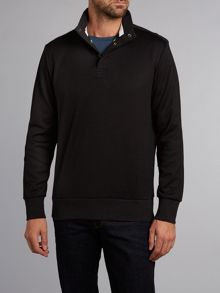Three button sweatshirt