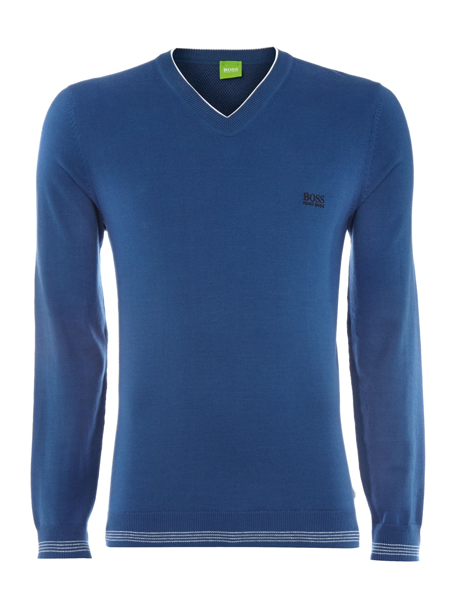 V-neck knitwear jumper