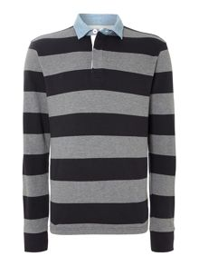 Eastfield Stripe Rugby shirt