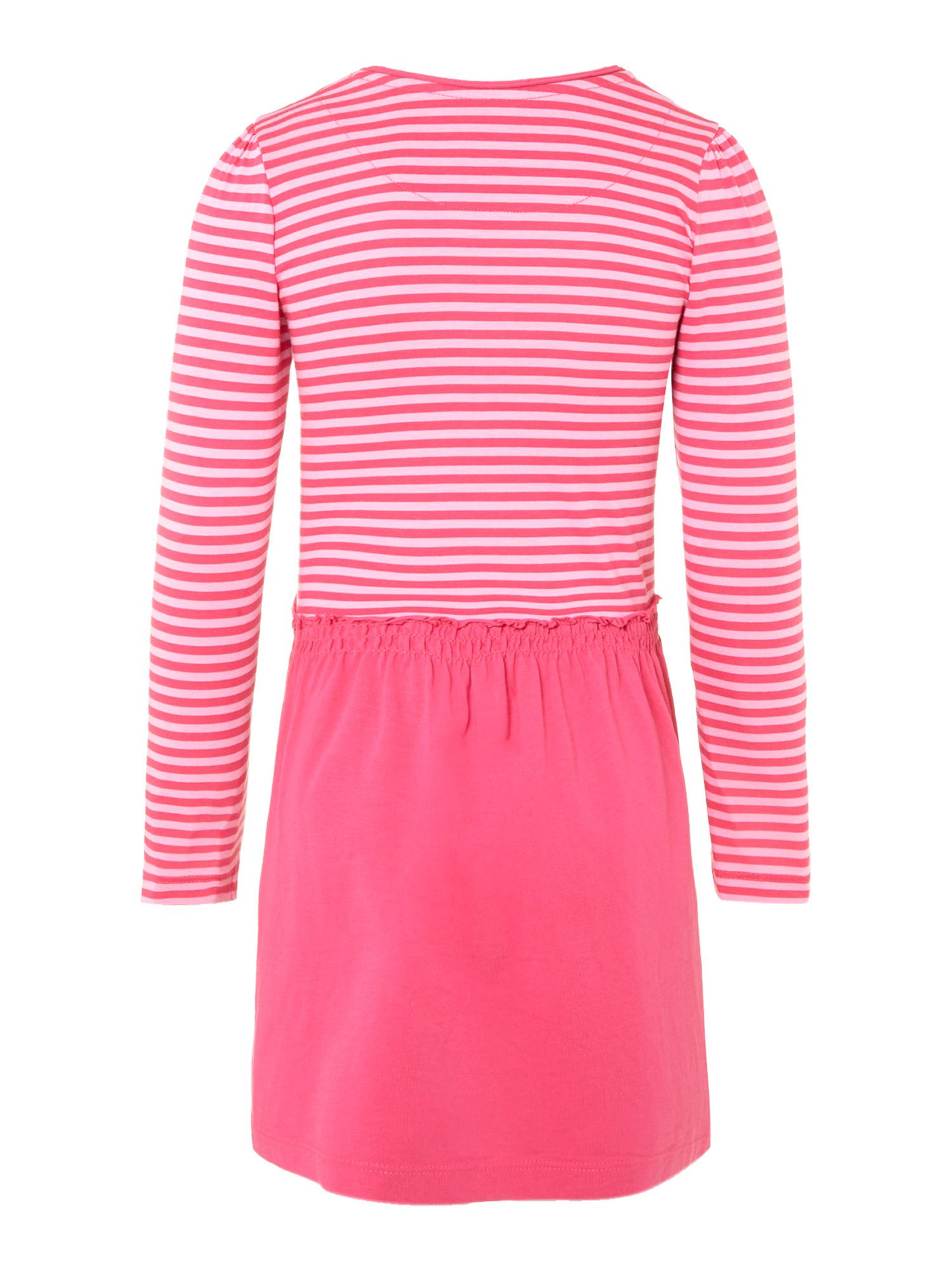 Girl`s striped top dress