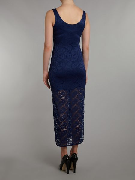 Wal-G Lace Maxi Dress