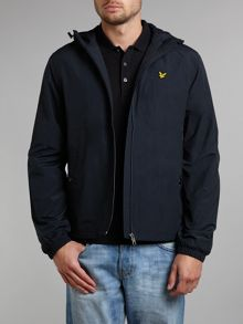 Lyle and Scott Zip through hooded jacket