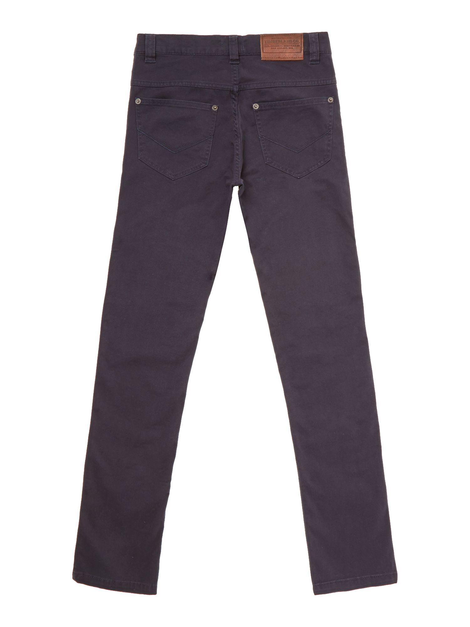Boy`s 5 pocket organic stretch pants