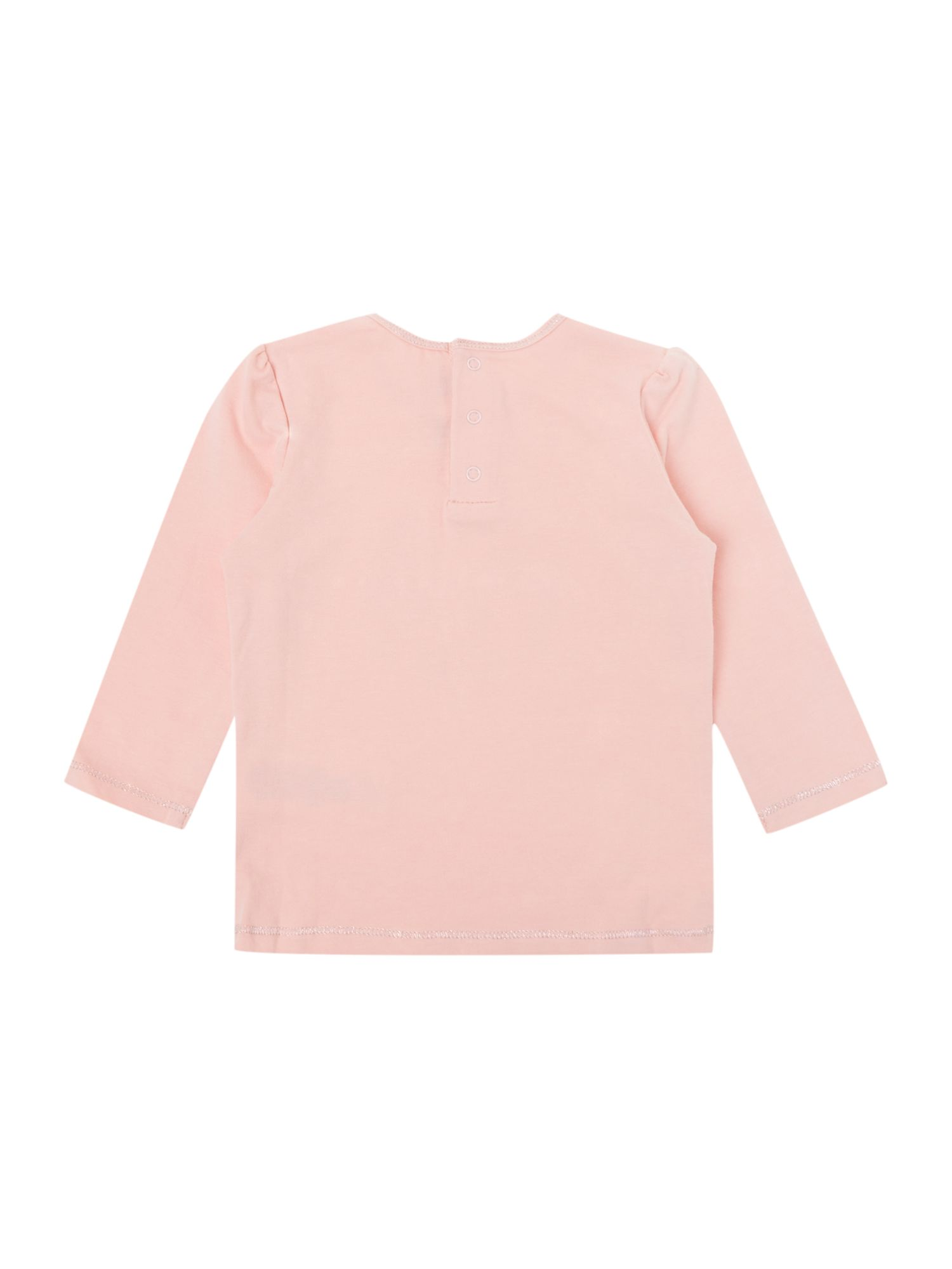 Girl`s cotton long sleeve t-shirt