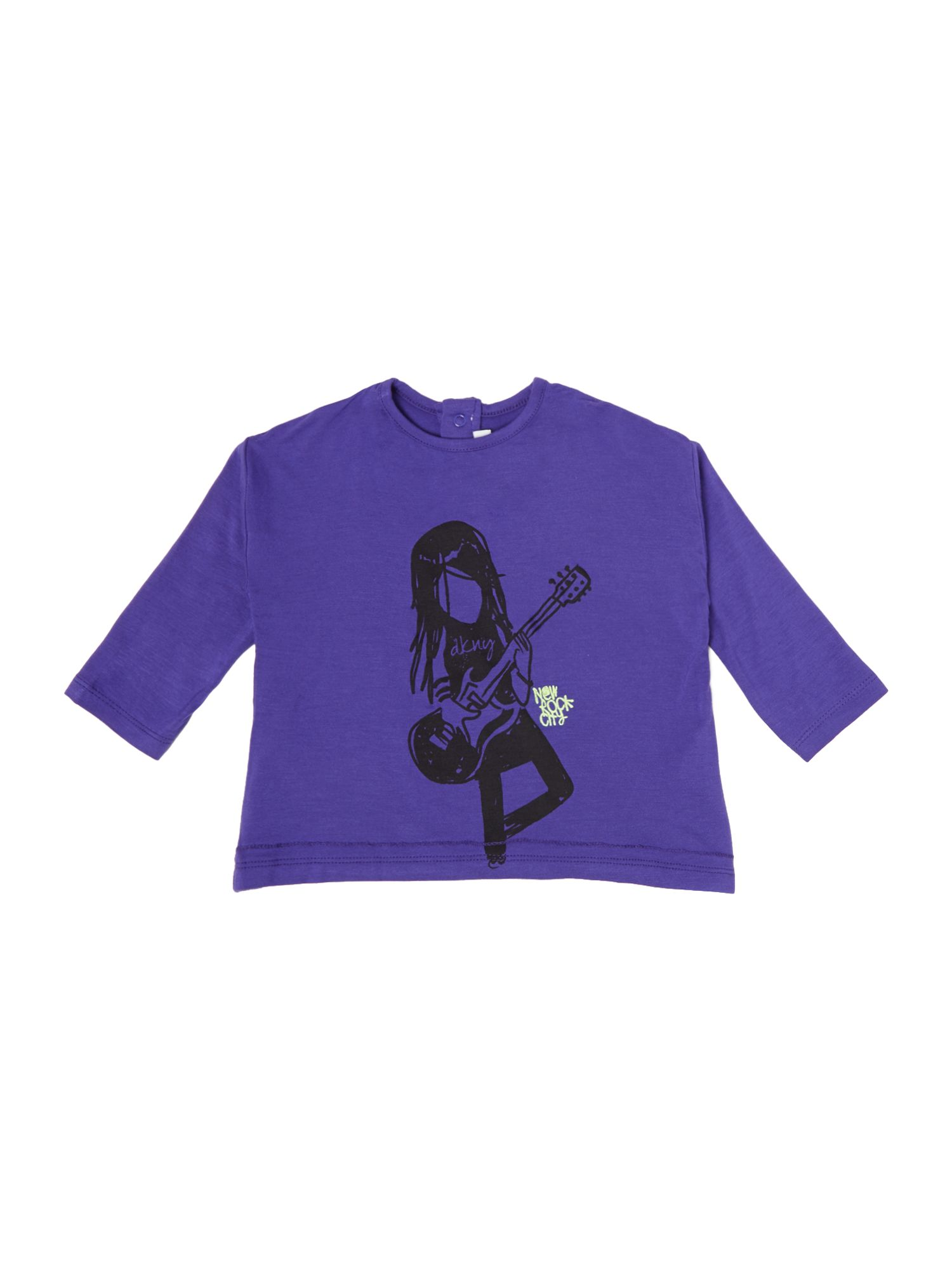 Girl`s long sleeve t-shirt